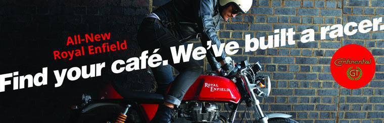 Click here to view the all-new Royal Enfield motorcycles.
