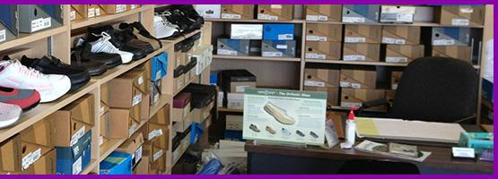 Customer service is our top priority. Our Pedorthist on staff specialize in shoes for Diabetics. We have a full service and repair department.