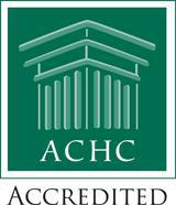 We are ACHC accredited!