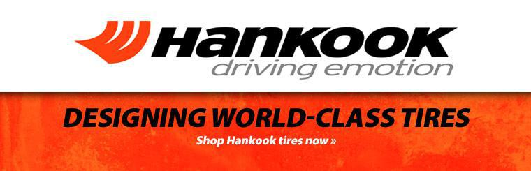 Shop Hankook tires now.