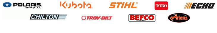We carry great products from Polaris, Kubota, STIHL, Toro, ECHO, Chilton Trailers, Troy-Bilt, BEFCO, and Ariens.