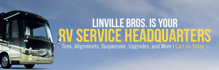 Linville Bros. is your RV service headquarters!