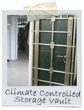 Climate-Controlled Fur Storage Vault