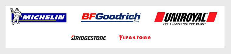 We proudly carry Michelin®, BFGoodrich®, Uniroyal®, Bridgestone, and Firestone.