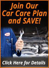 Join Our Car Care Plan and SAVE! Click Here for Details