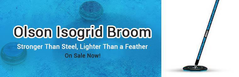 The Olson Isogrid broom is on sale now!