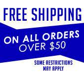Get free shipping on all orders over $50! Some restrictions may apply.