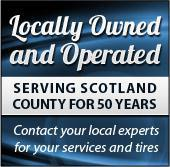 Locally Owned and Operated: serving Scotland County for 50 years!