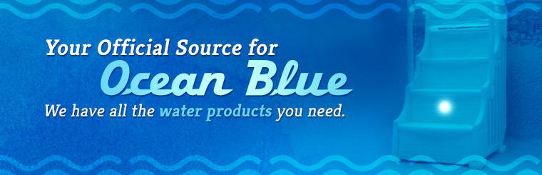 RBS Planet is your official source for Ocean Blue. We have all the water products you need.