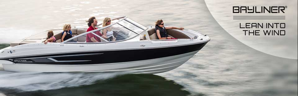 Bayliner: Lean into the wind!