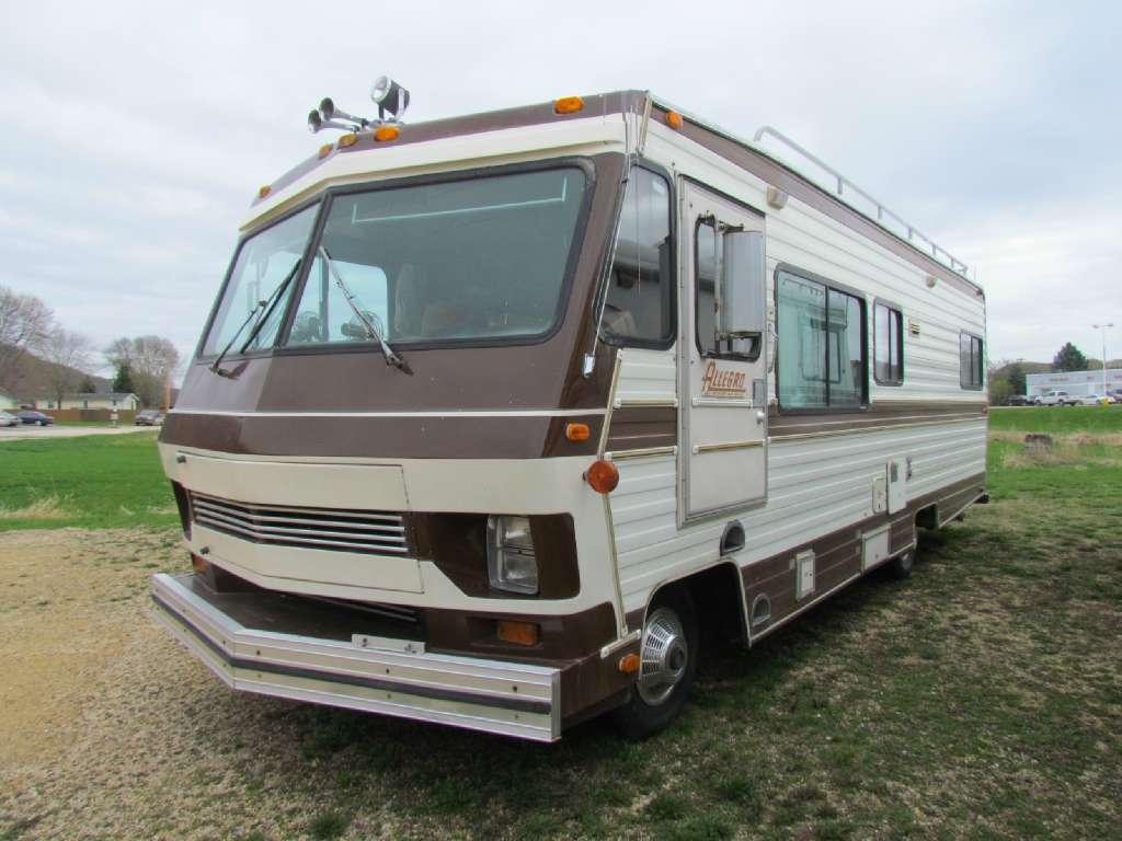 1987 Tiffin Allegro Motorhome Wiring Diagram Motors For Sale In Guttenberg Ia Brown Brownsrvonline Com 1024x768