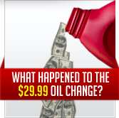 What happened to the $29.99 oil change?
