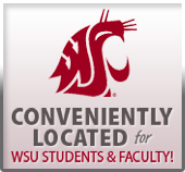 Conveniently located for WSU students & faculty!