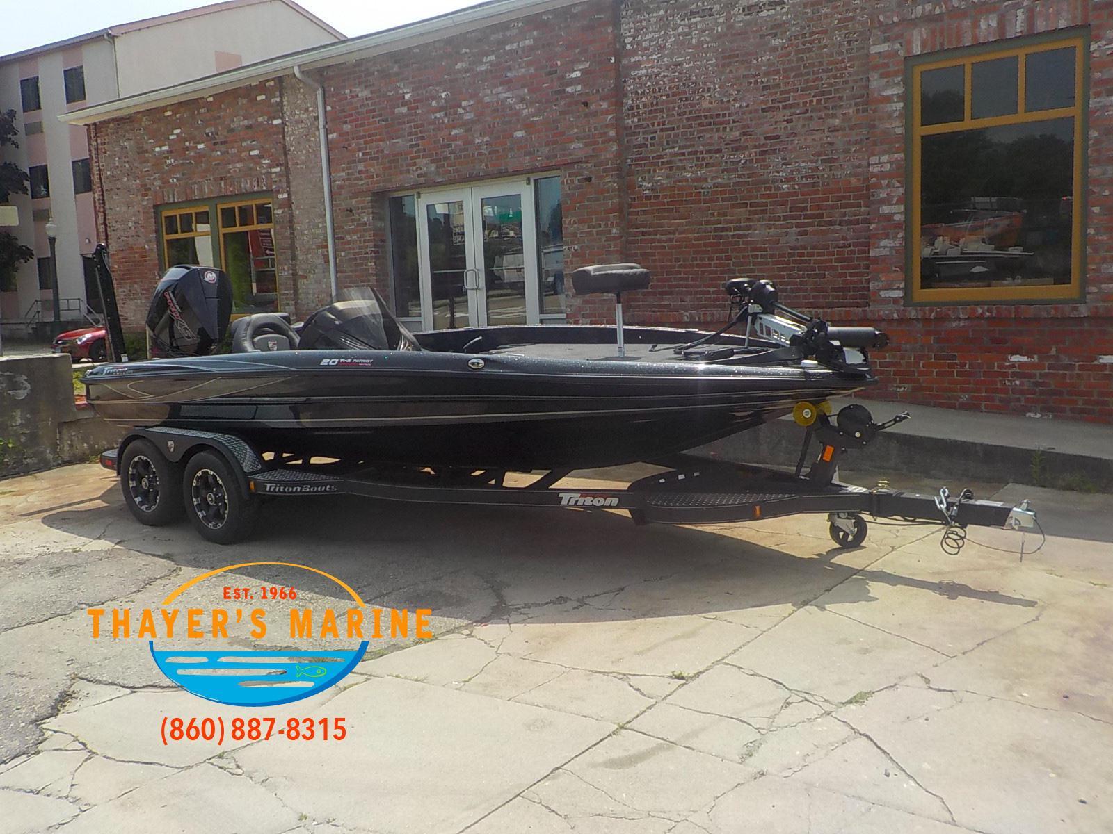 2019 Triton Boats 20TRX PATRIOT for sale in Norwich, CT