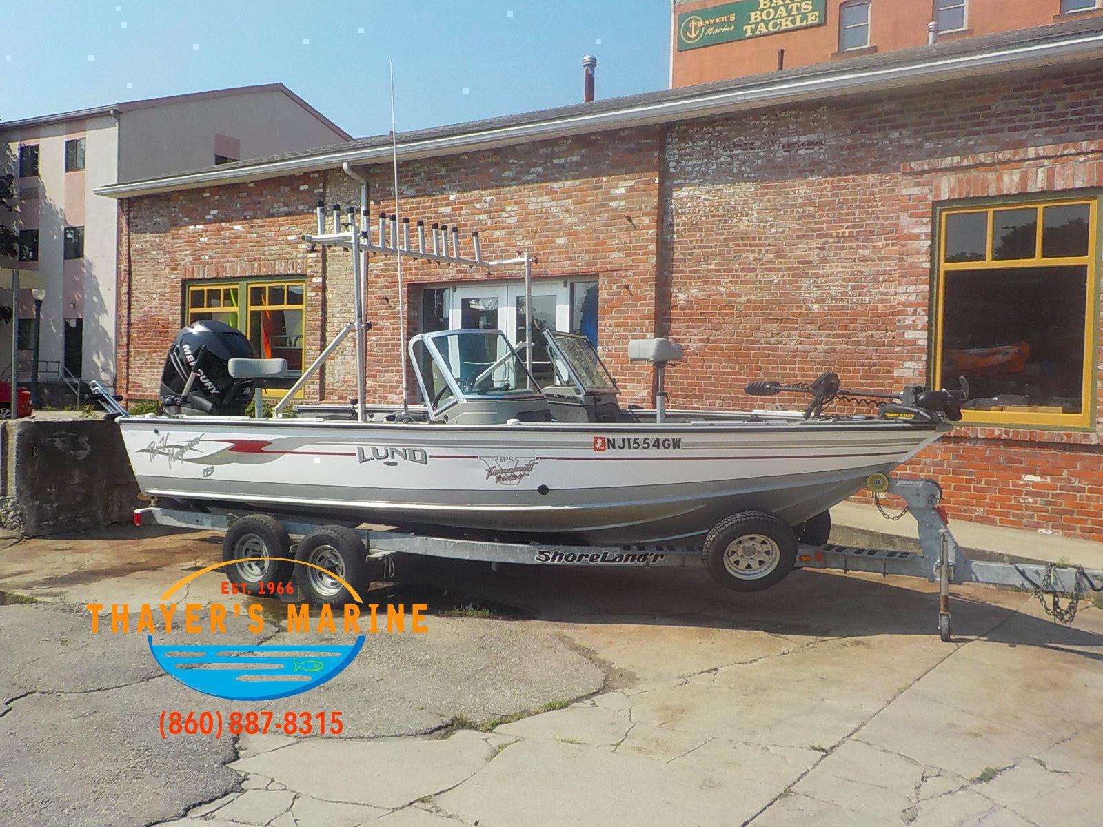 Boats from Lund Thayer's Marine Inc  Norwich, CT (860) 887-8315