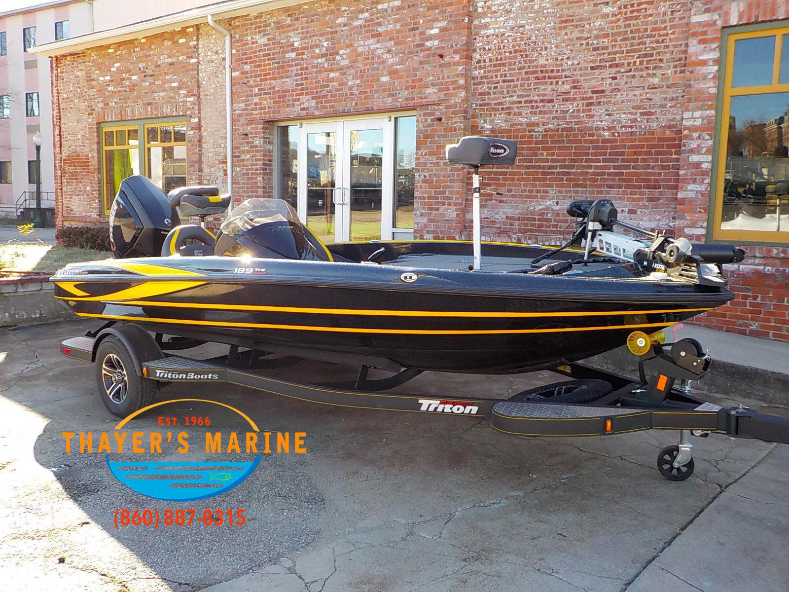 Inventory from Triton Boats Thayer's Marine Inc  Norwich, CT