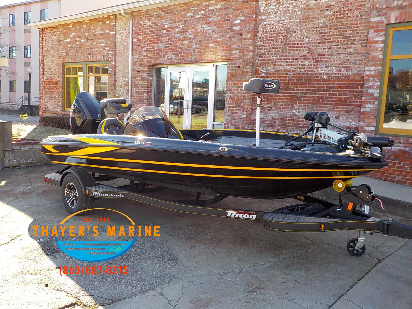 2019 Triton Boats 189 TRX for sale in Norwich, CT  Thayer's