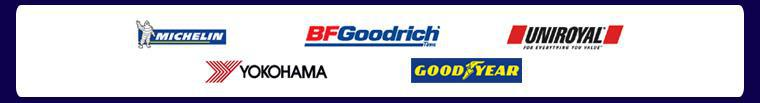We carry Michelin®, BFGoodrich®, Uniroyal®, Yokohama, and Goodyear products.