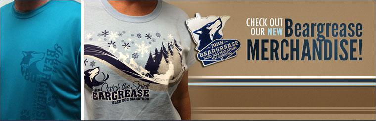 Check out our new Beargrease merchandise!