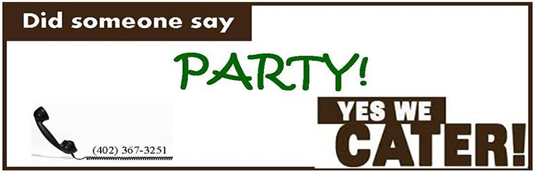 Did Someone Say Party! Yes We Cater