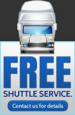 Free Shuttle Service.  Contact us for details