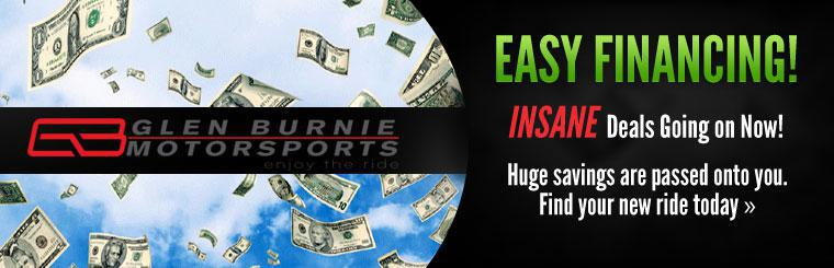 Easy Financing: We have INSANE deals going on now! Huge savings are passed onto you. Find your new ride today.