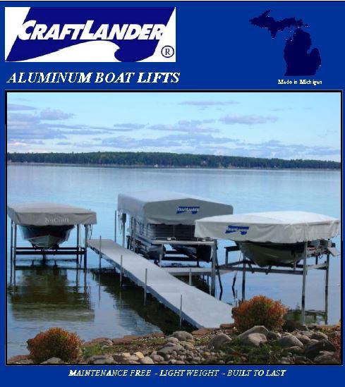 2019 Craftlander 35120 Vertical Pontoon Lift