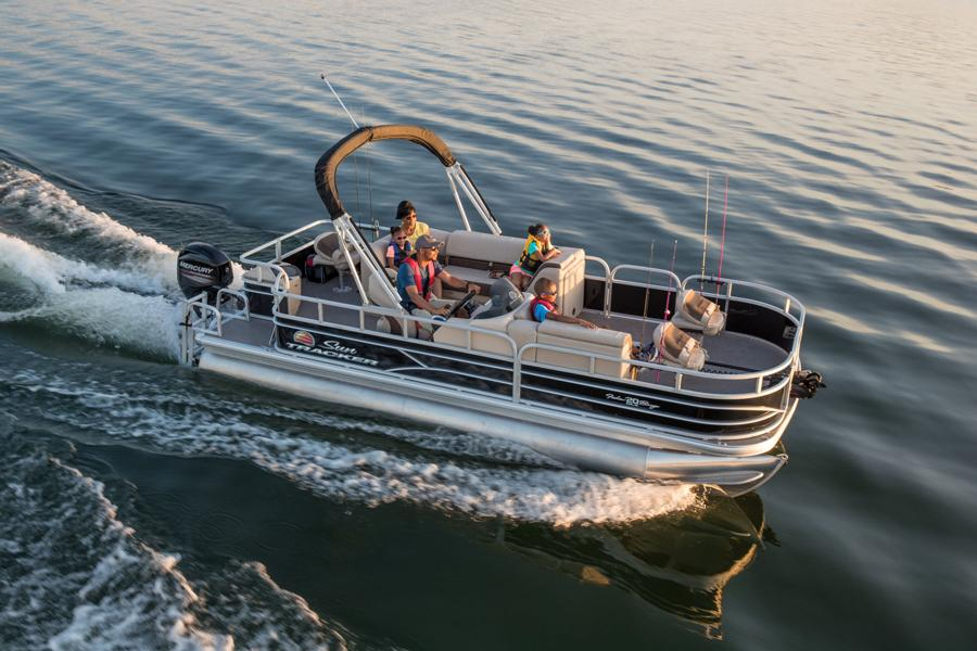 2019 Sun Tracker FISHIN' BARGE® 20 DLX