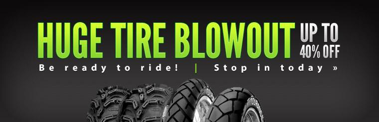 Huge Tire Blowout: Get up to 40% off!