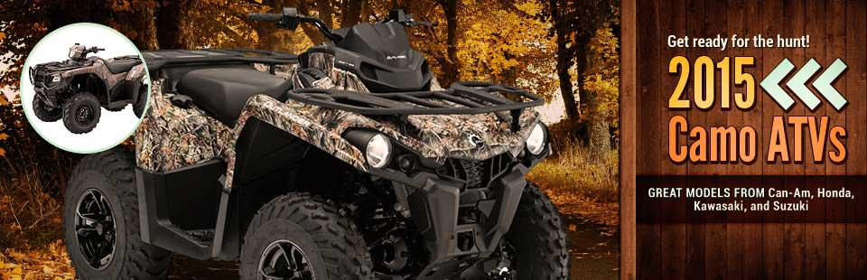 2015 Camo ATVs: Click here to view the models.