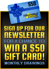 Sign up for our newsletter for a chance to win a $50.00 gift card. Monthly drawings.
