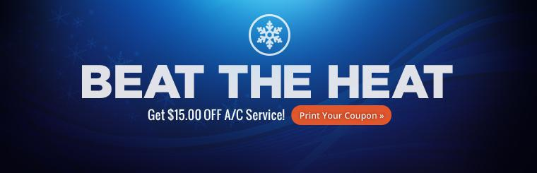 Save on air conditioning service at PTL Tire and Auto!