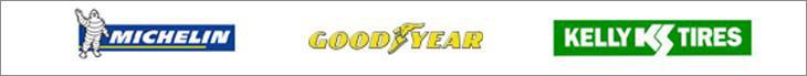 We proudly carry products from Michelin®, Goodyear, and Kelly.