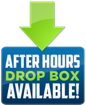 After Hours Drop Box Available