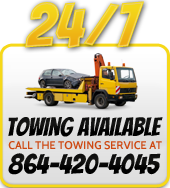 24/7 Towing Available