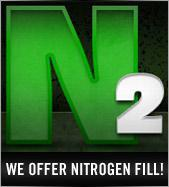 We offer Nitrogen Fill!