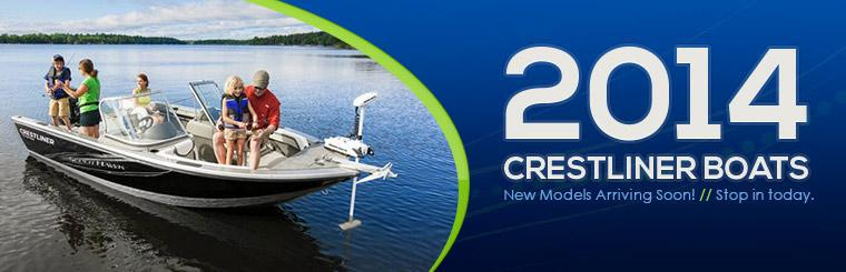 2014 Crestliner Boats: New models will arrive soon!