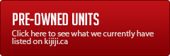 Pre-Owned Units: Click here to view our current inventory.