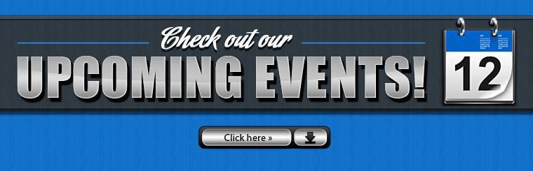Click here to check out our upcoming events!
