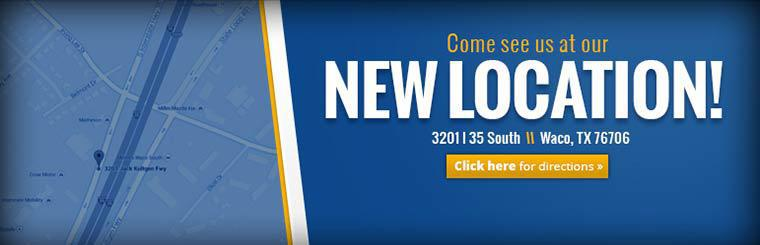 Come see us at our new location! Click here for directions.