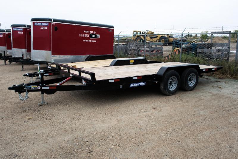 Sure-Trac 7x18 Tilt bed Car Hauler (10,000 gvw)