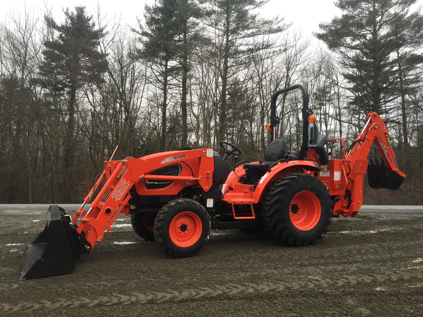 KIOTI CK3510 HST/Gear Tractor Loader Backhoe for sale in Belchertown