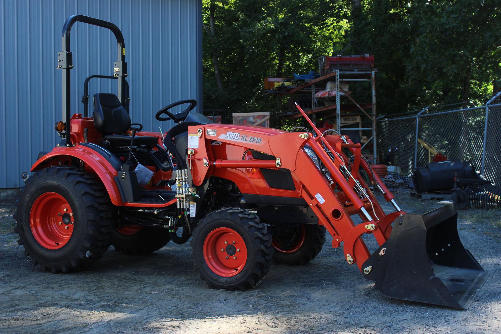 Kioti CK2510 Standard/HST Tractor w/ Loader for sale in Belchertown