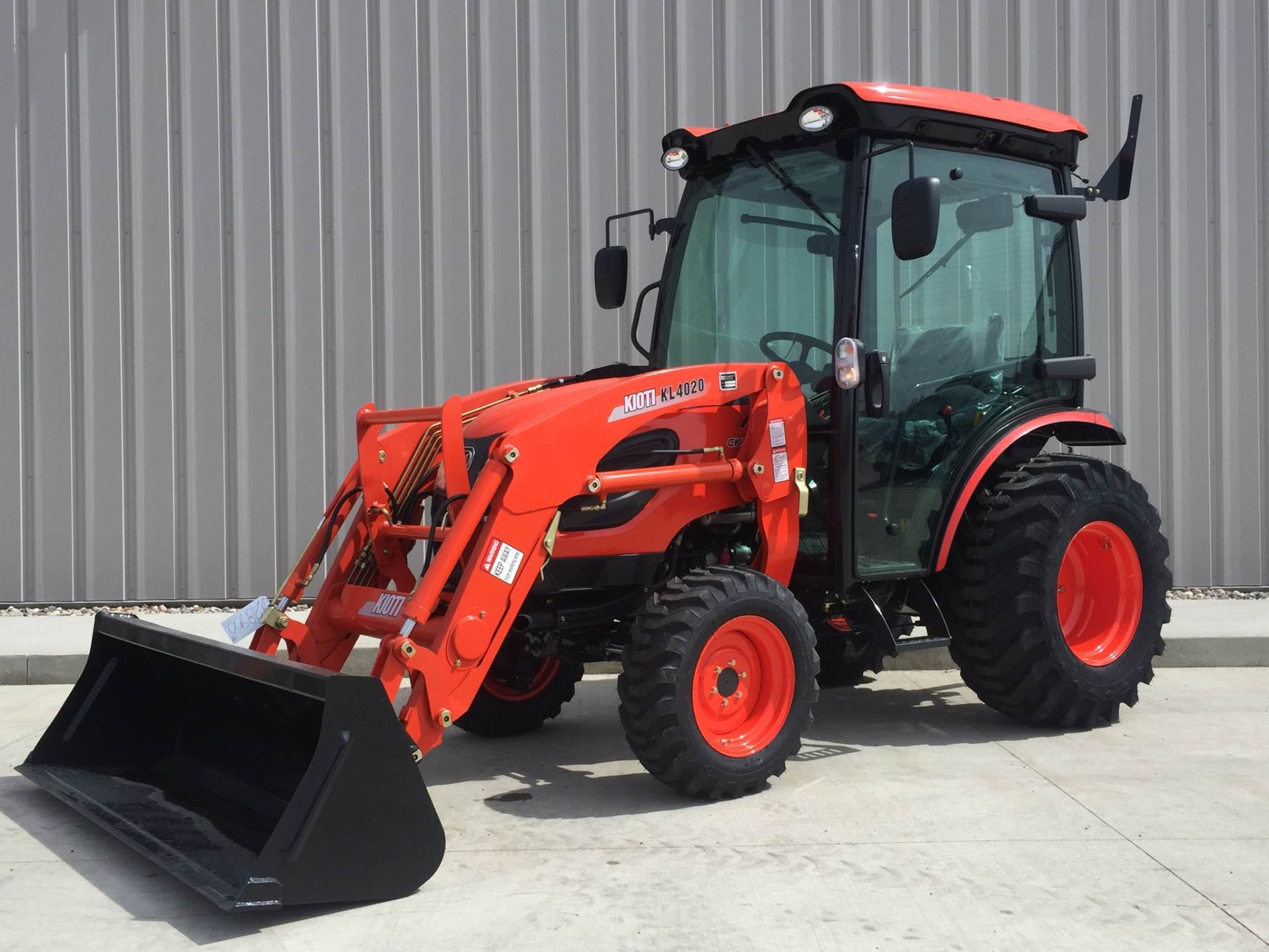 Kioti CK4010 HST Cab Tractor w/ Loader for sale in