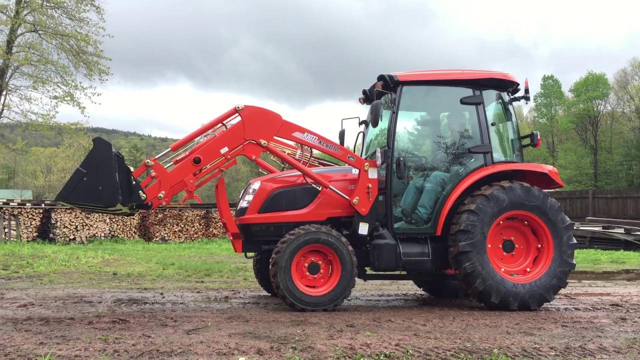 KIOTI Kioti NX4510 HST Cab tractor w/ Loader & KB2485