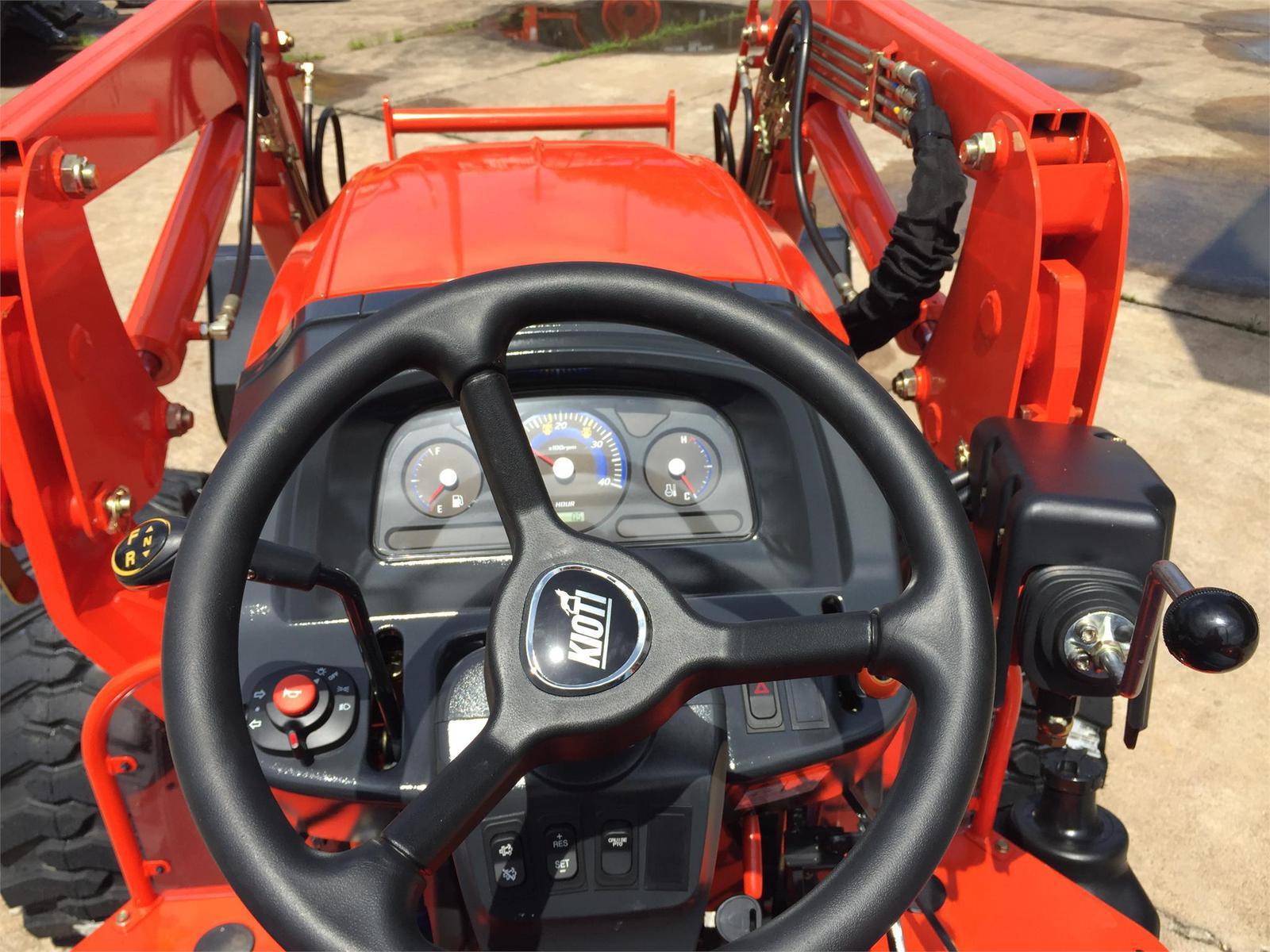 Kioti Kioti Package Deal #2 - DK4510 Tractor w/ Loader & 72