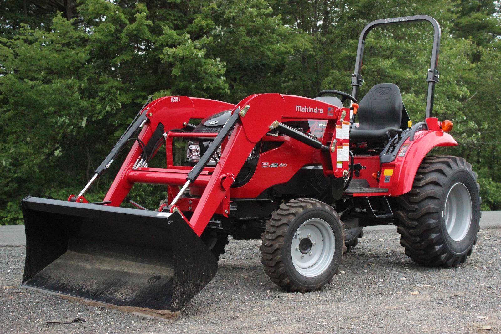 Mahindra 1533 Shuttle Tractor & Loader - Mahindra · Mahindra 1533 Shuttle  Tractor ...
