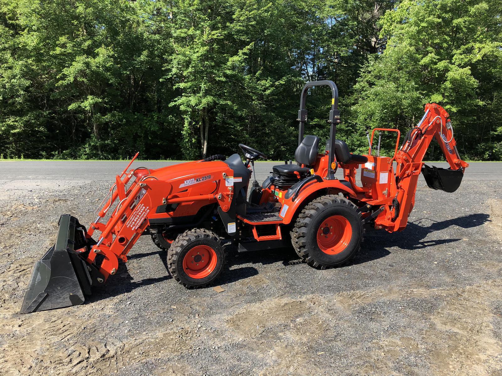 Kioti CK2510 HST Tractor Loader & Backhoe for sale in