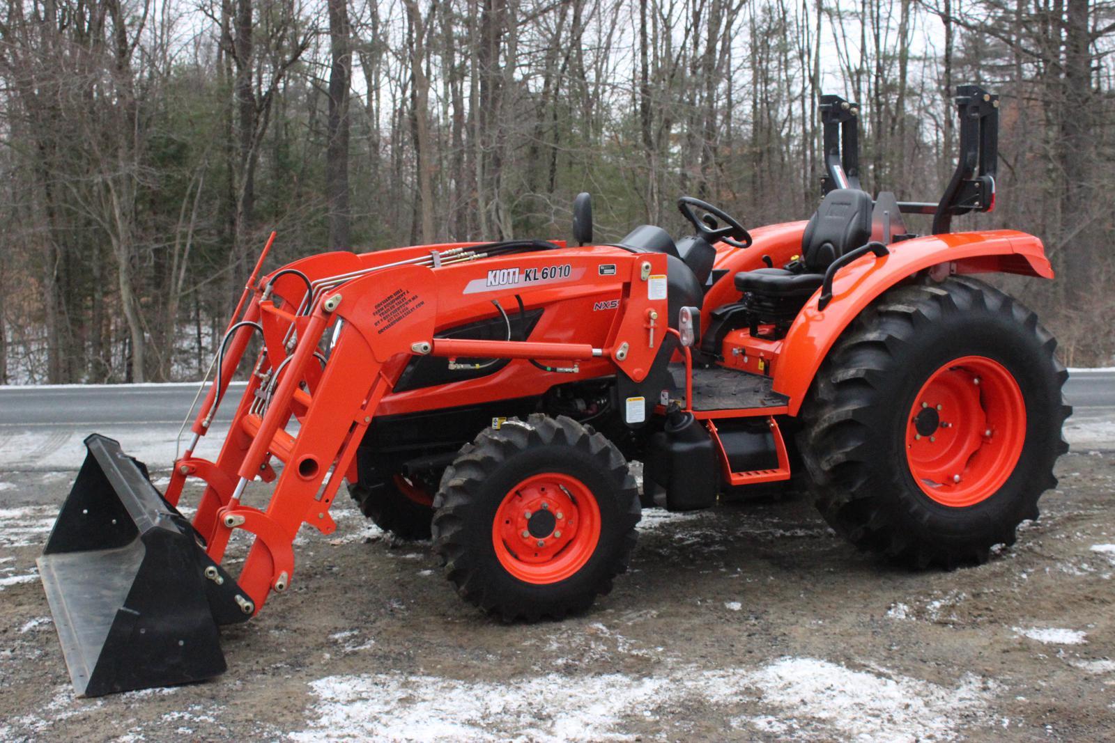 Kioti NX5510 HST 4x4 Tractor Loader for sale in Belchertown, MA