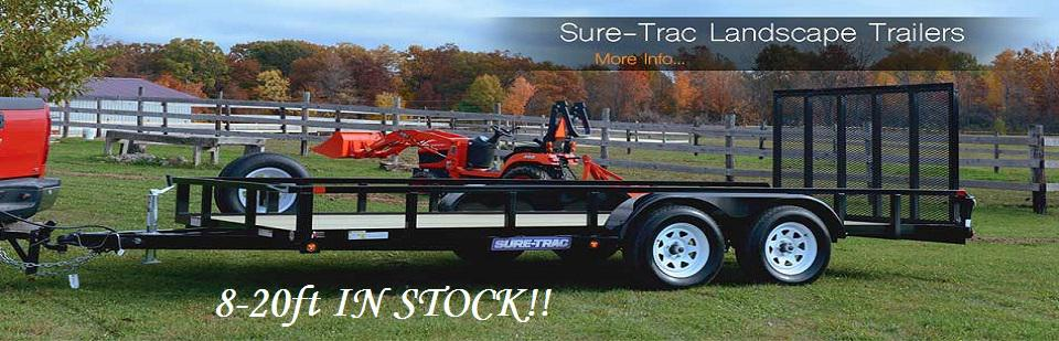 Sure Trac Landscape Trailers